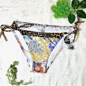 Victoria's Secret string bikini bottoms.